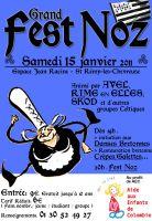Fest-noz à 20h à l'Espace Jean Racine à Saint-Rémy-lès-Chevreuse (78470)